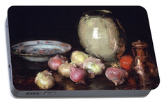 Just Onions, 1912 Portable Battery Charger by William Merritt Chase