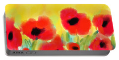 Just Poppies Portable Battery Charger