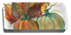 Just Pumpkins Portable Battery Charger
