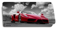 Just Red 1 2002 Enzo Ferrari Portable Battery Charger