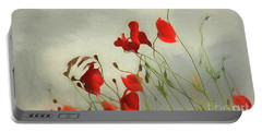 Just Some Poppies Portable Battery Charger