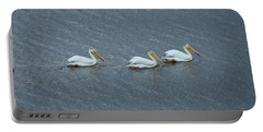 Triple Pelicans Lake John Swa Co Portable Battery Charger