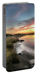 Just The Two Of Us At Sunset Portable Battery Charger
