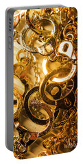 Justice Is Golden Portable Battery Charger