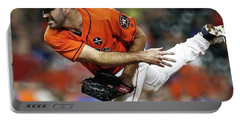 Justin Verlander, Houston Astros Portable Battery Charger