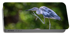 Juvenile Little Blue Heron Portable Battery Charger