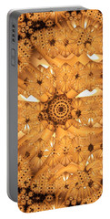 Portable Battery Charger featuring the digital art Juxtapose by Ron Bissett