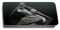 Juxtaposition - Pelicans Portable Battery Charger