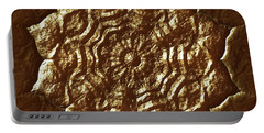 Portable Battery Charger featuring the digital art Jyoti Ahau 206 by Robert Thalmeier