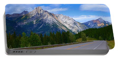 Kananaskis Country Portable Battery Charger by Heather Vopni