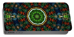 Portable Battery Charger featuring the digital art Ka061516 by David Lane