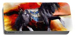 Kachina Hopi Spirit Horse  Portable Battery Charger by Shanina Conway