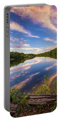 Kahler's Pond Clouds Portable Battery Charger