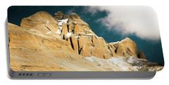 Portable Battery Charger featuring the photograph  Kailas Kora Himalayas Mountain Tibet Yantra.lv by Raimond Klavins