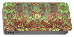 Kaleid Abstract Tapestry Portable Battery Charger