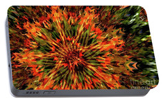 Portable Battery Charger featuring the photograph Kaleidoscope 1 by Jean Bernard Roussilhe