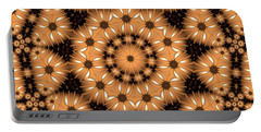 Portable Battery Charger featuring the digital art Kaleidoscope 131 by Ron Bissett