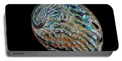 Portable Battery Charger featuring the photograph Kaleidoscope Abalone by Rikk Flohr