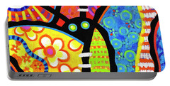 Kaleidoscope Butterfly Portable Battery Charger