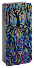 Kaleidoscope Forest Portable Battery Charger