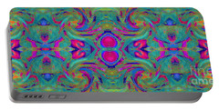 Kaleidoscope Heart Portable Battery Charger