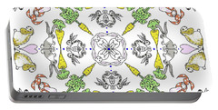 Kaleidoscope Rabbits Portable Battery Charger