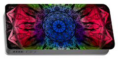 Kaleidoscope - Warm And Cool Colors Portable Battery Charger