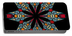 Portable Battery Charger featuring the digital art Kali Kato - 06a by Aimelle