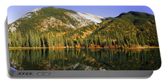 Kananaskis - Autumn Reflections 2 Portable Battery Charger by Stuart Turnbull