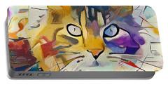 Kandinsky Cat Portable Battery Charger
