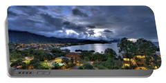 Kaneohe Bay Night Hdr Portable Battery Charger