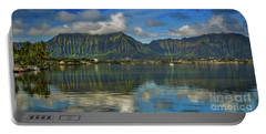 Kaneohe Bay Oahu Hawaii Portable Battery Charger