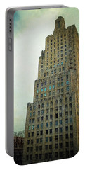 Portable Battery Charger featuring the photograph Kansas City Gotham by Glenn McCarthy Art and Photography
