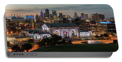 Kansas City Summer Sunset Portable Battery Charger