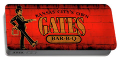 Kansas City's Own Gates Bar-b-q Portable Battery Charger