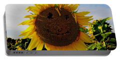 Kansas Sunflower Portable Battery Charger