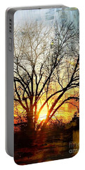Kansas Sunset Portable Battery Charger