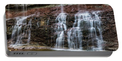 Kansas Waterfall 3 Portable Battery Charger