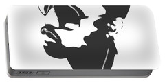 Kanye West Silhouette Portable Battery Charger