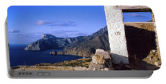 Portable Battery Charger featuring the photograph Karpathos Island Greece by Silvia Ganora