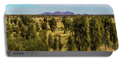 Portable Battery Charger featuring the photograph Kata Tjuta 01 by Werner Padarin