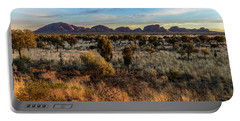 Portable Battery Charger featuring the photograph Kata Tjuta 02 by Werner Padarin