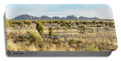 Portable Battery Charger featuring the photograph Kata Tjuta 03 by Werner Padarin