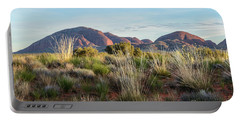 Portable Battery Charger featuring the photograph Kata Tjuta 04 by Werner Padarin