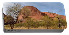Portable Battery Charger featuring the photograph Kata Tjuta 05 by Werner Padarin