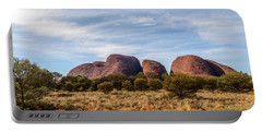 Portable Battery Charger featuring the photograph Kata Tjuta 06 by Werner Padarin