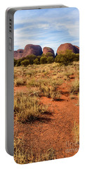 Portable Battery Charger featuring the photograph Kata Tjuta 07 by Werner Padarin