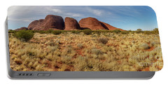 Portable Battery Charger featuring the photograph Kata Tjuta 10 by Werner Padarin