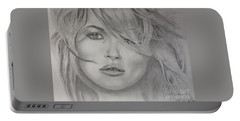 Kate Moss Fashion Model Portable Battery Charger