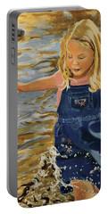 Kate Splashing Portable Battery Charger